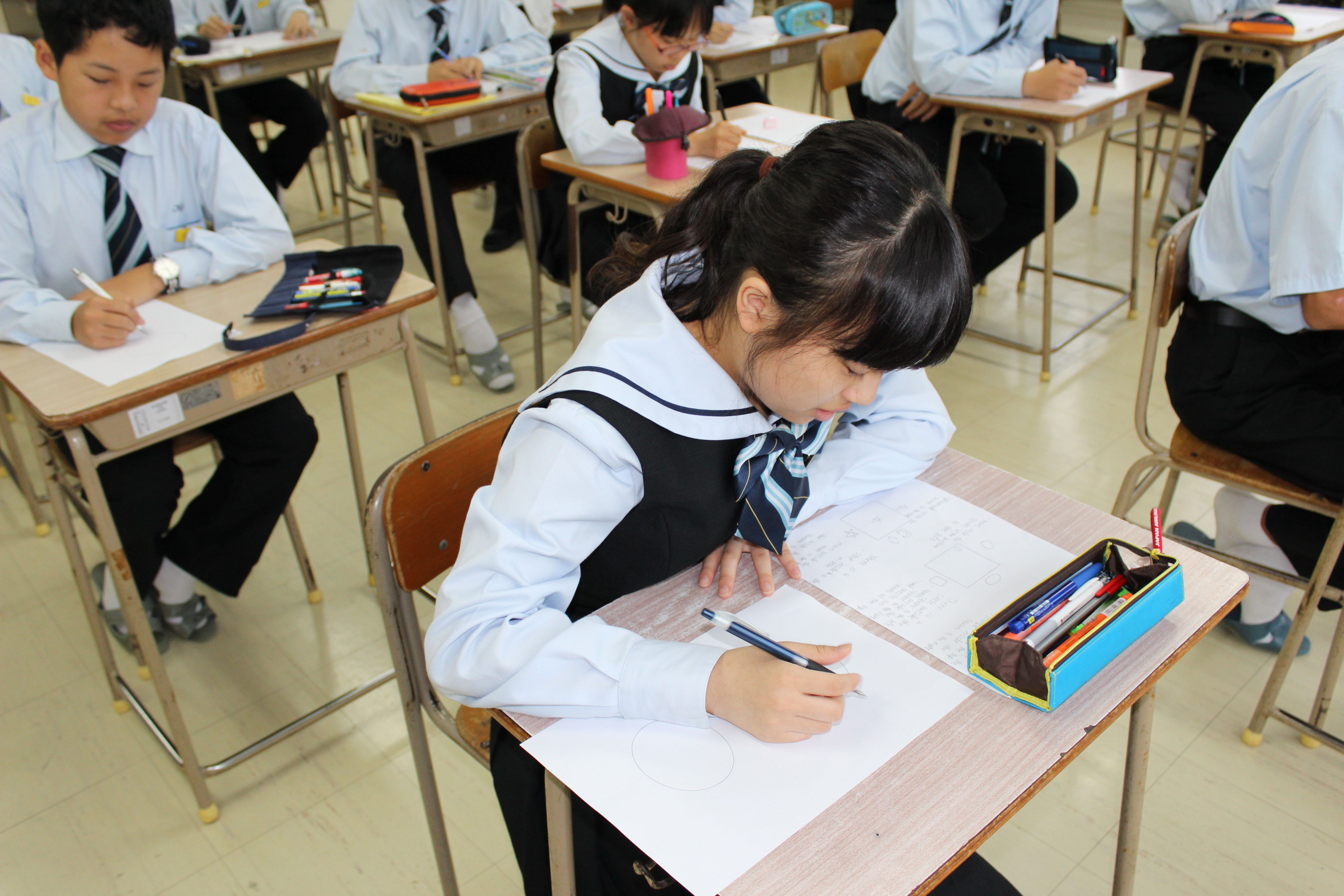 放課後の添削指導