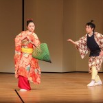 日本舞踊の様子