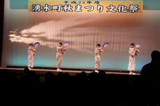 日本舞踊-3年生
