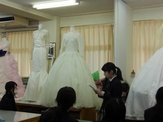キャサリン妃のドレスを参考にしました