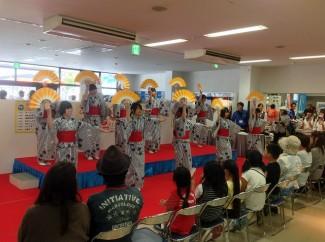 2年生による日本舞踊「おこさ節」