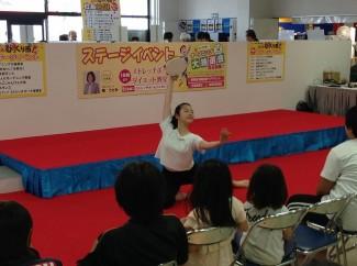 3年生の徳永さんによるバレエ「エスメラルダ」