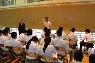 宮崎医療福祉専門学校のブース