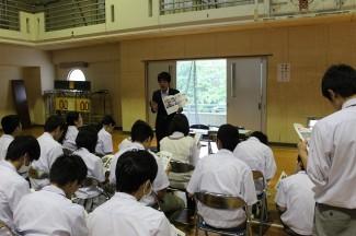 宮崎ユニバーサルカレッジのブース