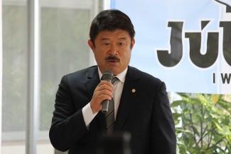 ジュビロ磐田GM加藤久様によるあいさつ