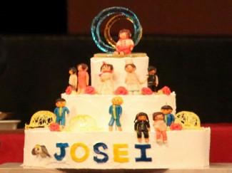 普通科パティシエコースによる「JOSEIケーキ」