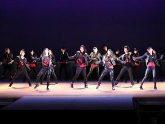 普通科芸術文化コースによるジャズダンス