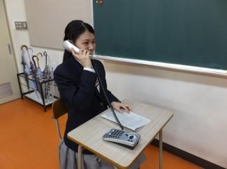 電話を掛ける時の表情や姿勢も相手に伝わります
