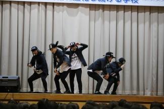 普通科芸術文化コースによるダンス