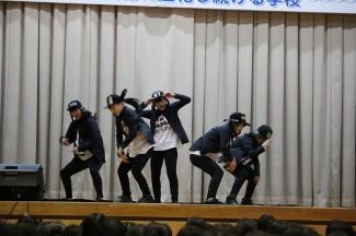 2・3年生選抜メンバーによるダンス
