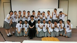 講師・西島悦先生と記念撮影