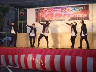 『SWAG』によるキレのあるダンス