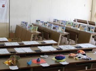 普通科共生コースはこれまでに製作した作品を展示しました