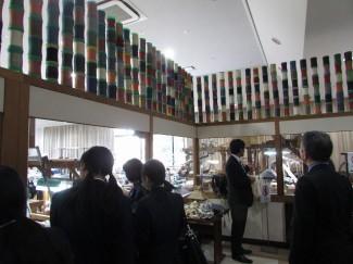 大島紬製作工場見学