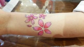 """春にぴったりな""""桜""""も人気でした"""
