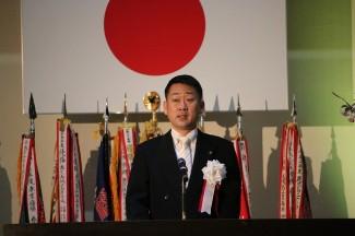 後藤理事長先生による告辞