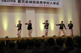 芸術文化コース3年生によるダンス