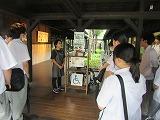 薩摩無双の焼酎の製造過程を見学