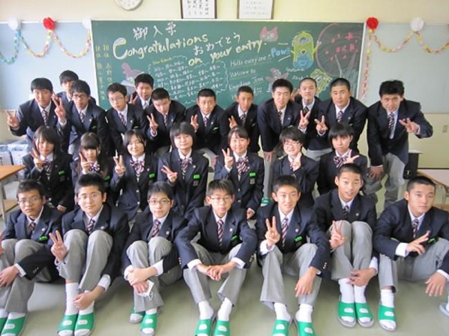 入学時の普通科1年A組
