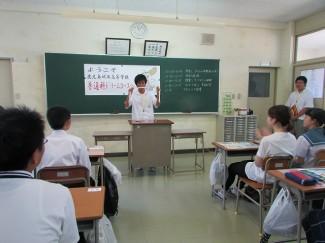 ロープマジック1年生 和田 海翔君(垂水中央中出身)