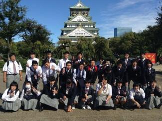 大阪城にてパシャリ