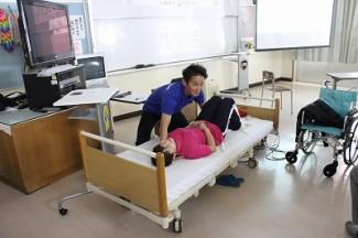 介護技術の講習