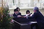 産業教育振興会中央会会長賞を受賞した篠原さん