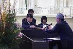 鹿児島県産業教育振興会会長賞を受賞した盛満さん