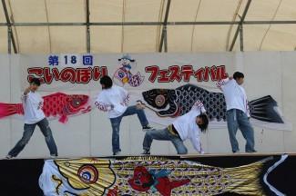 去年からチームを作りダンスを頑張る2年生4人組