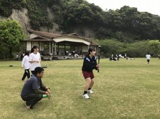 草野球を楽しみました。