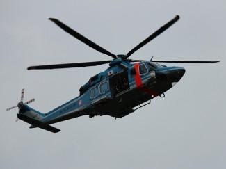 鹿児島県警のヘリコプター「はやと」