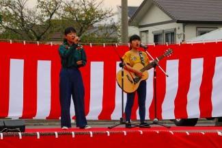 3年生の政さん,冨山さんによるオリジナルソング