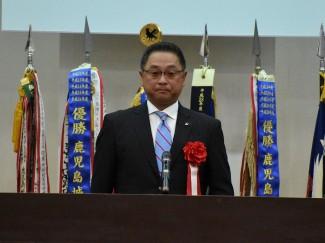 県私学中学高等学校協会会長様より祝辞を頂戴しました