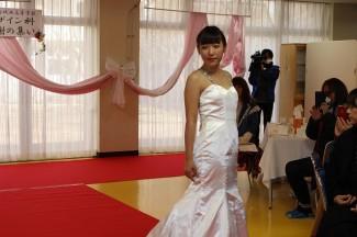 マーメイドラインのドレス