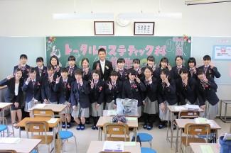 新入生入学式後の写真