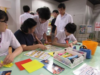 プラスティック板作品や難易度の高い折り紙等の製作