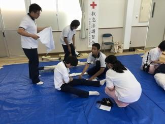 赤十字救急法講習②