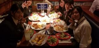 アメリカ旅行を締めくくる食事(チキンフライ)