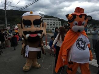 パレードも盛り上がっていました!