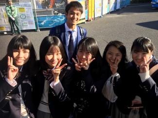 生駒仁選手と記念撮影!