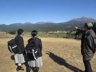 高千穂峰と韓国岳を見学