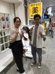 横須賀に勤務する卒業生
