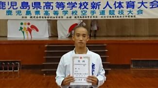 準優勝 谷川くん【61kg級】