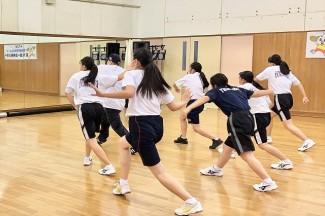 ヒップホップダンスの体験学習