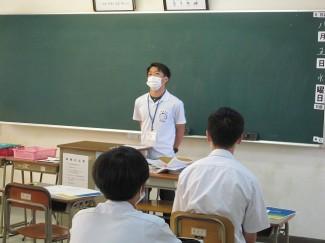 卒業生屋久楓さんによる体験談