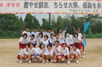 2年生は去年と異なる形での開催。学級対抗リレーは大活躍でした。