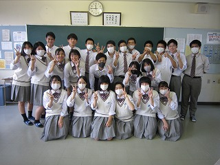 小野先生,ありがとうございました。先生の実体験の話を進路に活かしていきます。