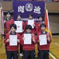 KJH女子卓球部新人戦優勝