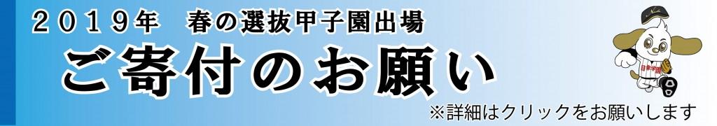 甲子園(寄付依頼アウトライン)